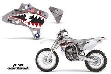 AMR Racing Yamaha YZ 250F/450F Shroud Graphic Kit MX Bike Decals 03-05 WARHAWK S