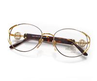 Vintage Hilton Parklane 107 04 Oval Unisex Eyeglasses Optical Frame Lunettes RX