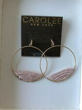 Women's Jewlery Rose Gold Color and Pink Stones