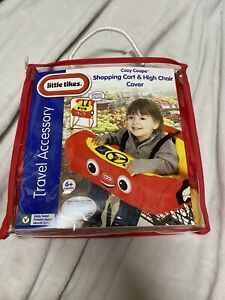 NEW Little Tikes Cozy Coupe Shopping Cart High Chair Cover Red Car Travel