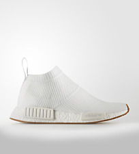 Adidas para hombre NMD CS1 PK Primeknit Goma Blanco BA7208 Talla 10  Totalmente Nuevo cf74a226089f5
