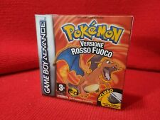 Nintendo Gameboy Pokémon rosso fuoco Box Repro + Case + Custodia ITA