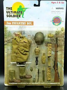 "1:6 Ultimate Soldier WWII US Army 3rd Infantry Uniform Set 12"" GI Joe Dragon"