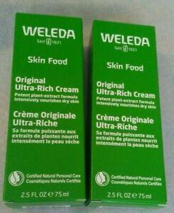 Lot of 2 Welda  Skin Food 2.5oz  Exp 12/2021