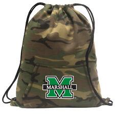 Marshall University Cinch Pack Backpack COOL CAMO Marshall Bags
