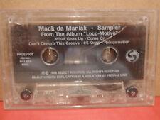 Mack da Maniak - Loco-Motive Sampler PROMO Cassette Rare RAP
