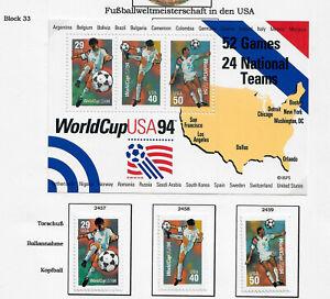USA 1994 - Mi. 2457 - 2459 + Bl. 33