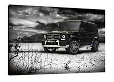 Brabus Mercedes G Wagon - 30x20 Inch Canvas Art - Framed Picture Print