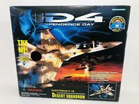 iNDEPENDENCE DAY ID4 COLLECTABLE ELECTRONIC SQUADRON F/A-18 HORNET  Opened Used