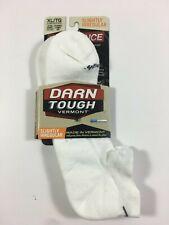 DARN TOUGH VERMONT Endurance Light Cushion No Show Socks Size XL White