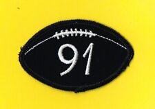CHICAGO BEARS FRED WASHINGTON 1990 MEMORIAL NFL UNIFORM PATCH