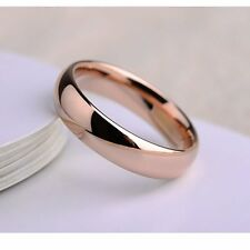 Vintage jewelry womens rose gold filled mystic promise eternity ring size 6.5