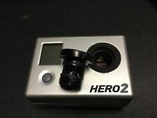 GOPRO HD HERO2 MODIFIED INTERCHANGEABLE LENSES 2.5mm Wide+8mm Narrow Tele-Photo