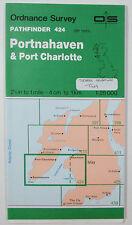 1987 OS Ordnance Survey Pathfinder map 424 Portnahaven Port Charlotte NR 15/25