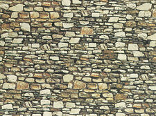 Noch 57710 H0, TT, Plaque murale Dolomite, long, 64x15cm 1qm =