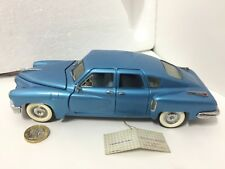 Franklin/Danbury mint 1:24 1948 Tucker blue American classic vintage model car