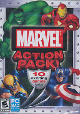 MARVEL ACTION PACK 10x Games Wolverine, Iron Man, Hulk,