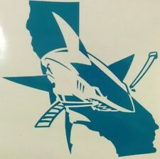 San Jose Sharks #25YearsofTeal NHL Hockey Yeti Cup Vinyl Decal Window Sticker