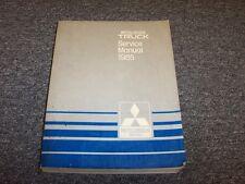 1985 Mitsubishi Mighty Max Pickup Truck Shop Service Repair Manual 2.0L 2.6L