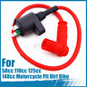 Racing Ignition Coil HT Lead For 50cc 110cc 125cc 140cc Motorcycle Pit Dirt