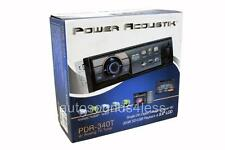 Power Acoustik PDR-340T MP3/WMA/USB Digital Media Player 3.4