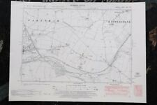 Vintage Norfolk Ordnance Survey Map - Fakenham - Kettlestone