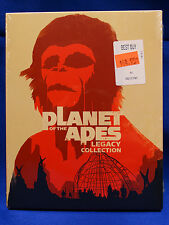 Planet of the Apes (Blu-ray 5 Disc) Beneath Escape From Conquest Battle For Set