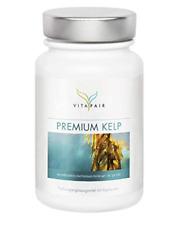 Kelp Extrakt 217mg Tagesdosis 180 Kapseln 150 g natürliches Jod Vegan MHD