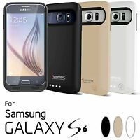 Samsung Galaxy S6 Battery Case Charger Cover Rechargeable Backup By Alpatronix