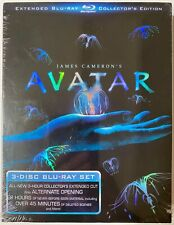 JAMES CAMERON'S AVATAR BLU-RAY 3-DISC SET EXTENDED COLLECTORS EDITION NEW SEALED