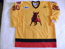 Reebok Belleville Bulls authentic Malcolm Subban jersey 58 GC Goalie cut NEW NWT