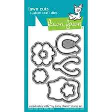 NEW LAWN FAWN MY LUCKY CHARM METAL CRAFT DIES