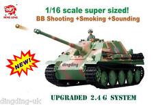 1/16 longues heng radiocommandée jagdpanther char de combat 2.4G!!!