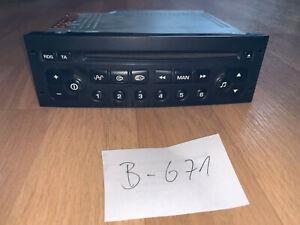 Original VDO CD-Radio Peugeot 963659757700 22RC280/65