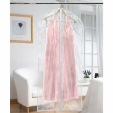 Russel EXTRA LONG DRESS COVER PROTECTORS Travel Home Set of 2 Transparent Covers
