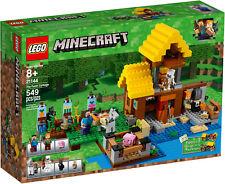 LEGO Minecraft - 21144 Farmhäuschen / The Farm Cottage mit Steve & Alex Neu OVP
