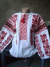 Ukrainian embroidery, embroidered blouse, S - 3XL, Ukraine