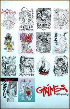 Grimes Art Angels Ltd Ed Rare Discontinued Poster +Indie Pop Dance Rock Poster!