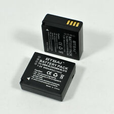 2x 940mAh Battery for Panasonic DMW-BLE9e Lumix DMC-GX7 DMC-GF5K GF5W GF3 DMC-S6