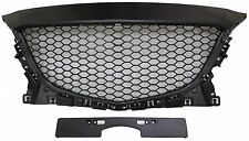 Mazda3 Mazda 3 2014-2016 Front Hood Grille Grill Unpainted Honeycomb Style