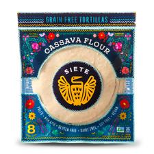 Siete - Cassava & Coconut Flour Paleo, Primal Tortillas - 3-PACK