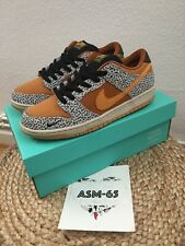 Nike SB Dunk Low Pro ISO Safari 42,5 9 8 Pigeon Special Edition Travis Off White