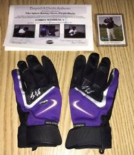 COREY WIMBERLY GAME USED/SIGNED BATTING GLOVES! AUTOGRAPHED COLORADO ROCKIES