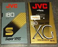 S-VHS JVC SE-180 XG Video Kassette SEALED NEU & OVP TOP