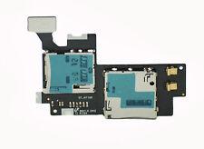 Sim memory card reader tray slot holder flex for Samsung Galaxy Note 2 II N7100