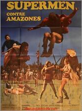 SUPERMEN CONTRE AMAZONES Affiche Cinéma / Movie Poster Nick Jordan