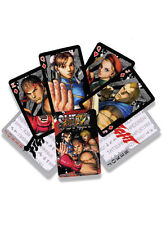 Street Fighter Poker Playing Cards Anime Manga Game Licensed NEW