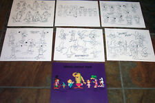 Magilla Gorilla Show Animators' Model Sheets Hanna Barbera Art Reference Guide