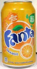 FULL 355ml 12oz Canadian Can Coca-Cola's Fanta Orange Canada French English 2009