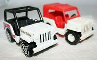 1980s Buddy L Jeep Lot Stamped Steel